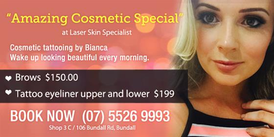 Amazing cosmetic special at Laserskin Specialist
