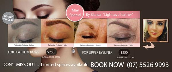 Fantastic Offer for Cosmetic Brows & Eyeliner