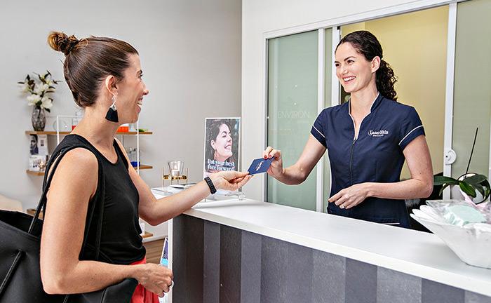 Image of a dermapen appointment